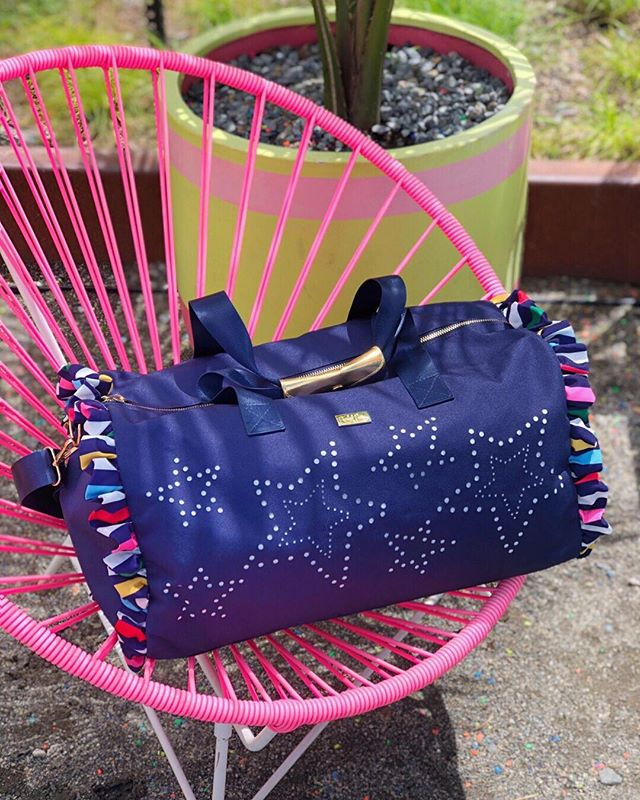 218a6d60e So starry eyed 💫 for our new duffle bag launching this Monday, June 24th